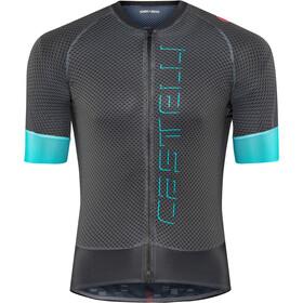Castelli Climber's 2.0 Maglietta jersey con zip frontale Uomo, dark grey